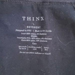 thinx Intimates & Sleepwear - Thinx boyshort period underwear